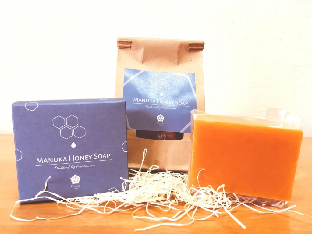MANUKA HONEY SOAPマヌカハニーソープ販売ページのご案内