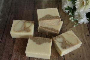 アロマ工房シェアソープの素材石けん米糠石鹸