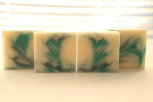 アロマ工房シェアソープのデザイン石鹸