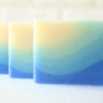 アロマ工房シェアソープのデザイン石鹸グラデーション石鹸